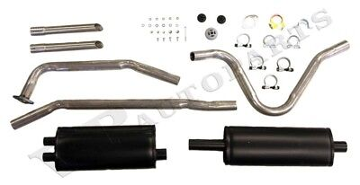 Exhaust system Volvo P1800 61-65 single pipe KIT