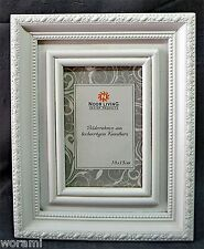 3x Bilderrahmen,Silber Metall Antikoptik 15x10//24x19 Nostalgie,Romantisch,Barock