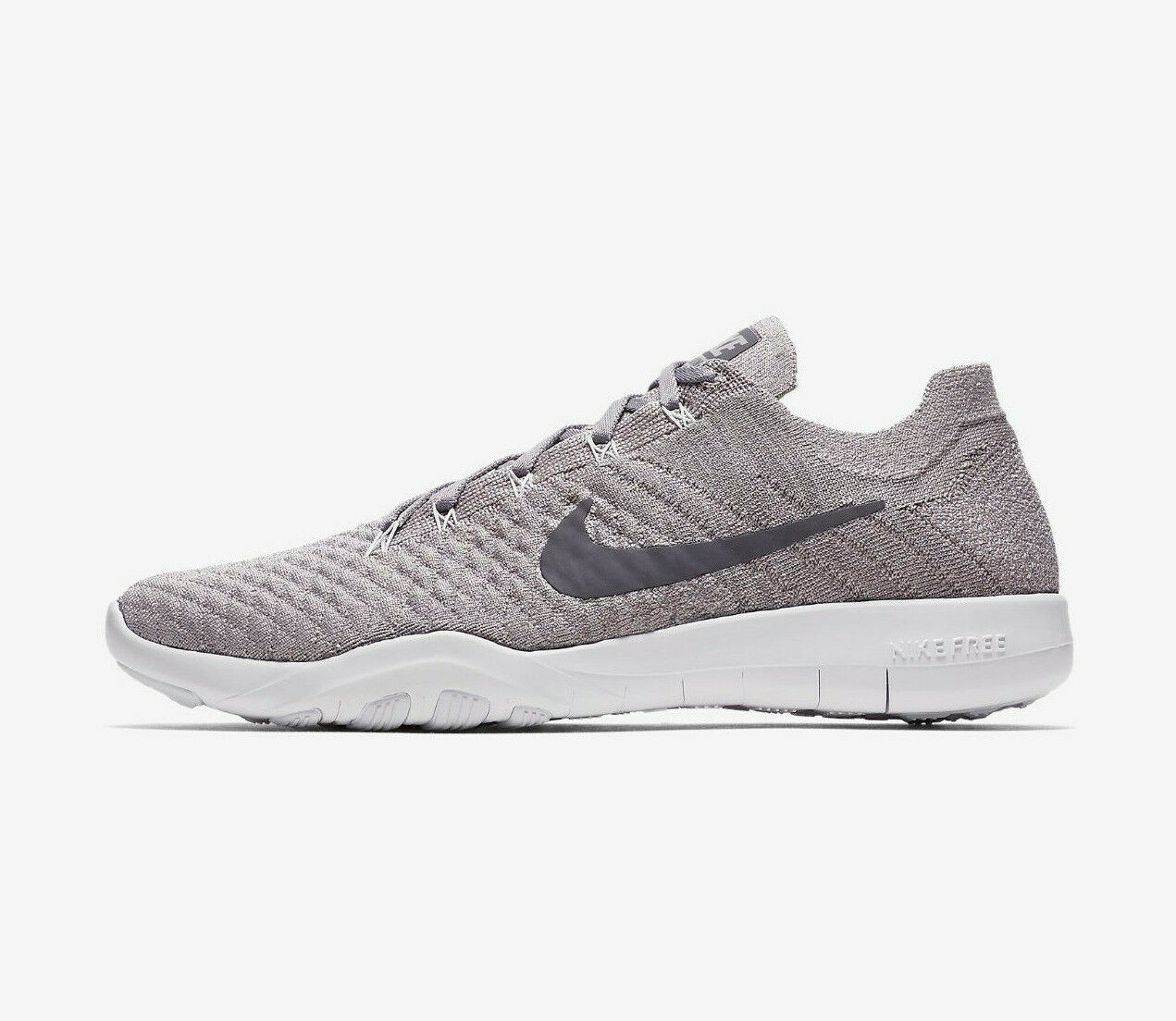 Nike DAMEN Gratis Tr Flyknikt 2 Schuhe Atmosphere Grau Guns Moke Weiß 904658 016