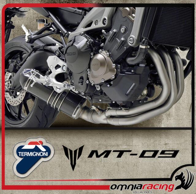Termignoni Carbonio - Yamaha MT 09 FZ 09 2013 13> Impianto di Scarico Completo