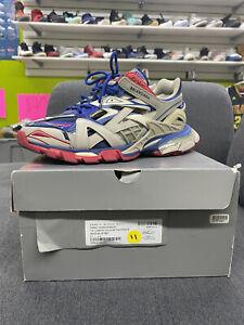 Balenciaga Track 2 Sneaker size 44 Beige/Red/Blue