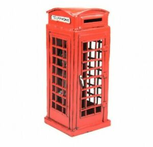 Miniature-Modelisme-Timplate-Gift-039-s-London-Telephone-Booth-1920-H-CM-19