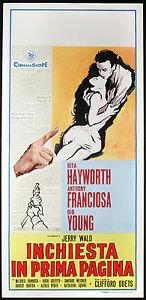 l-affiche-du-film-ENQUETE-DANS-PREMIERE-PAGE-r-hayworth-a-franciosa-C-ODETS