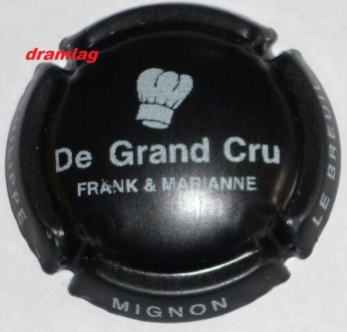 Capsule de Champagne MIGNON Philippe restaurant De Grand Cru n°32