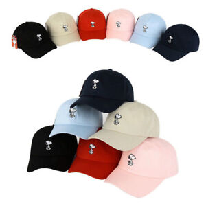 cf60c3189de Image is loading Unisex-Mens-Womens-Authentic-Peanuts-Snoopy-Baseball-Cap-