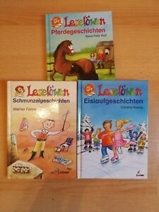 3 Kinderbücher vom Leselöwen - Westerrönfeld, Deutschland - 3 Kinderbücher vom Leselöwen - Westerrönfeld, Deutschland
