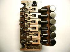 Schaller DOUBLE Locking Tremolo Vintage copper, r2, 37mm blocco