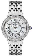 Gv2 By Gevril Women's 9140 Astor II Diamond MOP Dial Stainless Steel Watch