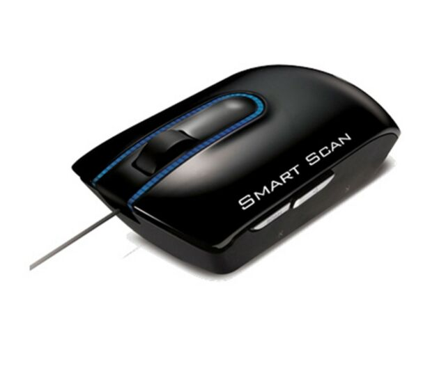 Lg lsm-100 smart scan usb laser scanner mouse for pc / mac excl.