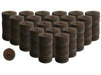 200 Count- Jiffy 7 Peat Soil 42mm Pellets Seeds Starting Plugs: Indoor Seed Star on Sale