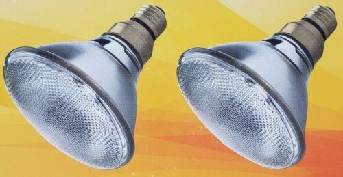 Set of 2 Ge Halogen Par 38 Flood Bulb Flood 90-120 Watt 1600 Lumens Boxed