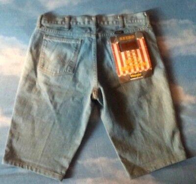 Cordiale Shorts Jeans Bermuda Vintage 80's Wrangler Retro Tg.29 Circa S/m New! Rare