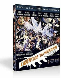 Blu Ray + DVD : L'aventure du Poseidon - Gene Hackman - NEUF