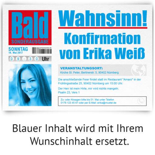 Decor Invitation Cards-NEWSPAPER-Decor Cards Invitation with Picture