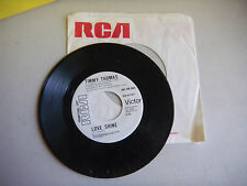 TIMMY THOMAS  runnin out of time/ love shine PROMO  RCA    45