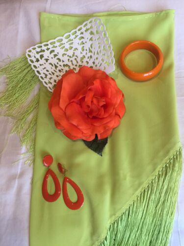 Et Flamenco De Robe Taille Accessoires S wpEwqF5
