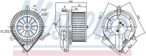 NISSENS-87175-Interior-Fan-Blower-Motor
