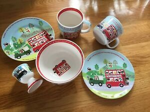Details About Little Rhymes Queens Kitchen Nursery Porcelain And Melamime Set Cup Plates Bowl