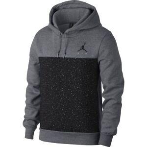 8ff83d5c3dadc7 Image is loading Nike-Jordan-Flight-Fleece-Cement-Pullover-Hoodie-Outdoor-