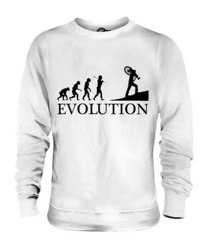 CYCLOCROSS EVOLUTION OF MAN UNISEX SWEATER  Herren Damenschuhe LADIES GIFT BIKE