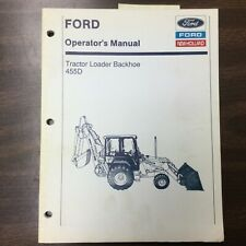 Ford New Holland 455d Tractor Loader Backhoe Operators Manual Maintenance Guide