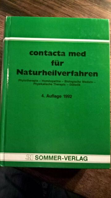 Contacta med für Naturheilverfahren, 4. Aufl. 1992