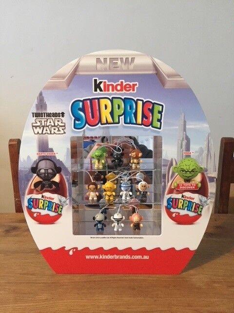 stjärnornas krig Kinder Surprise Diorama leksaker Ltd Edition AUSTRALIA Sällsynt Bara 200 Made