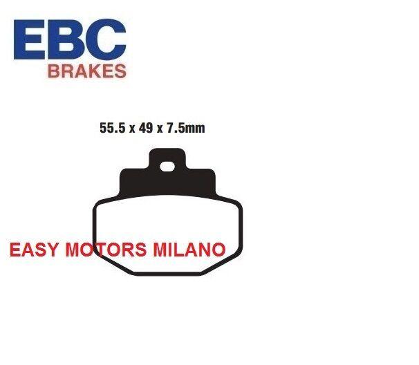 SFAC321 EBC COPPIA PASTIGLIE FRENO POSTERIORE Piaggio Hexagon GTX 125 cc 2000