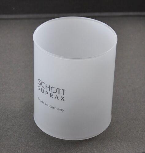 LAMP GLASS GLOBE SCHOTT SUPRAX  85 x 100 mm for PETROMAX