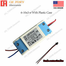 Constant Current LED Driver 20W 6-10X3W Lamp Light Bulb Power Supply USA