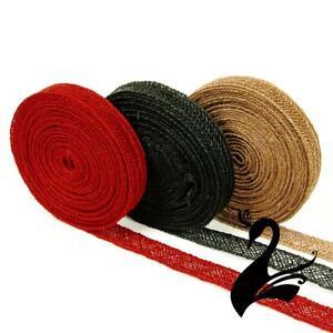 Braid Trim - Abaca Hemp Straw Woven Ribbon 16mm (Price per 5m) - Sewing Craft...