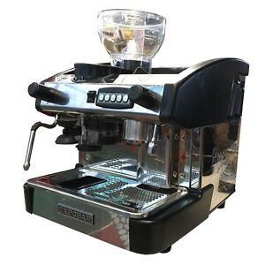 Details About Expobar New Elegance 1 Group Automatic Espresso Machine Wgrinder