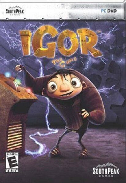 Brand New Sealed Action PC DVD iGOR The Game