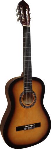 Gitarre,4//4 im Set-Tasche+Gurt//Band-Kapodaster+ersatz Saiten-Stimmpfeiffe!23n