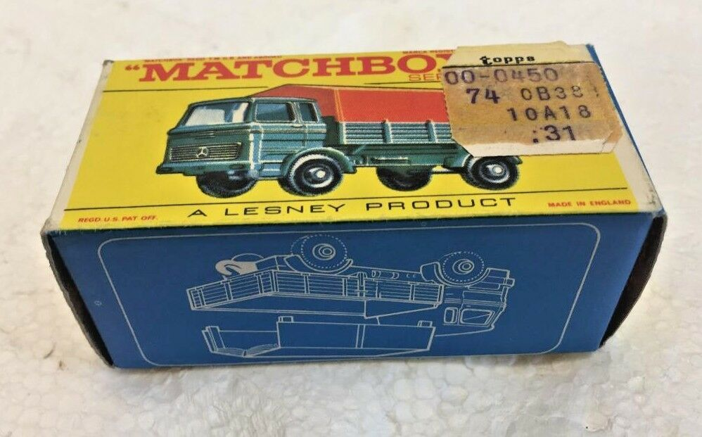 Matchbox Lesney Producy No. Mercedes Truck with BOX