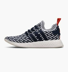 93be6723e3728 Image is loading Adidas-NMD-R2-PK-BB2909-Collegiate-Navy-White-