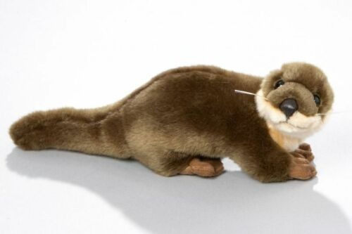 NEW PLUSH CUDDLY CRITTERS STANDING OTTER SOFT TOY TEDDY