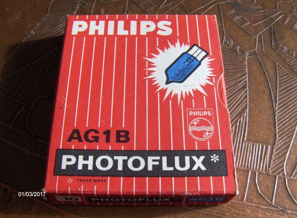 40 ORIGINALE PHILIPS UNIVERSAL PHOTOFLUX BLITZ, Philips,