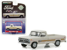 1976 Ford F-100 Pickup Bicentennial Option Group White 1/64 Car Greenlight 29965