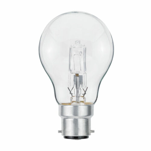 Paulmann Eco Halogen Leuchtmittel Birnenform AGL 42W fast 60W B22d klar warmweiß