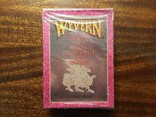 4 Wyvern CCG Starter Decks Limited Edition Factory Sealed 1994New Lot Cards