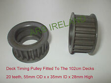 Castel Garden / Honda / Mountfield Toothed Timing Belt Pulley TC102 TCR102 TCP
