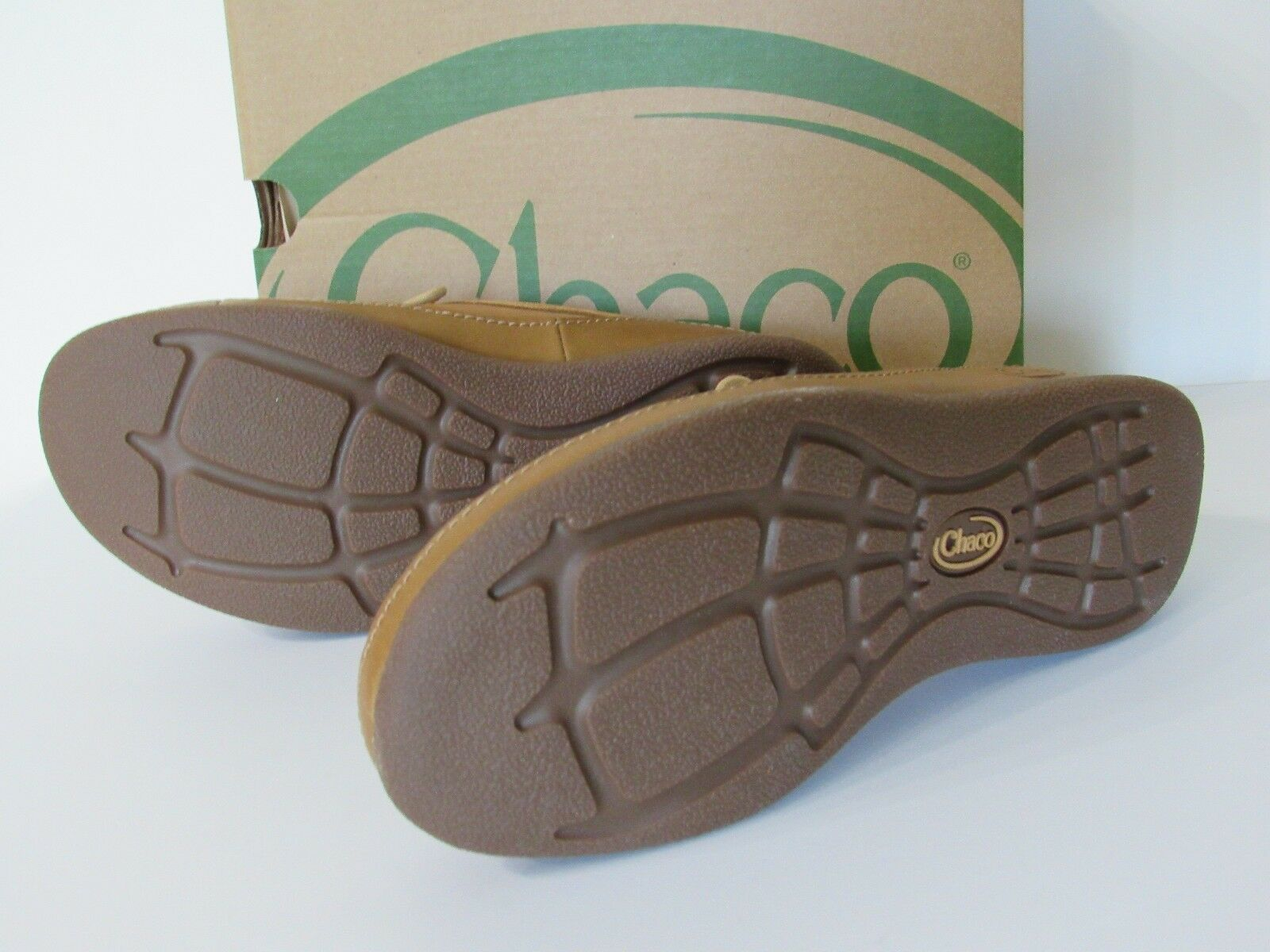Chaco Pineland LUVSEAT Womens Tan Leather Lace Up Comfort Comfort Comfort shoes size 6.5 NEW 7f57ce
