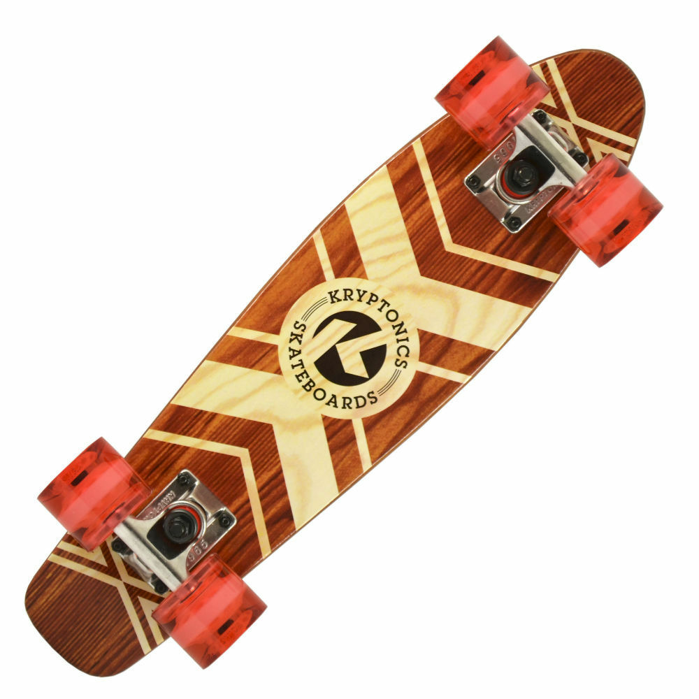 Kryptonics 22.5  Torpedo 'Tribal Roots' Cruiser Board