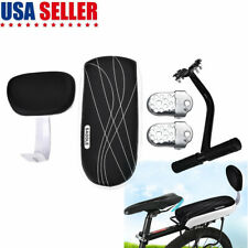Polisport Koolah Child Kids Bike Bicycle Rear Rack Seat Grey PSCS50GRY