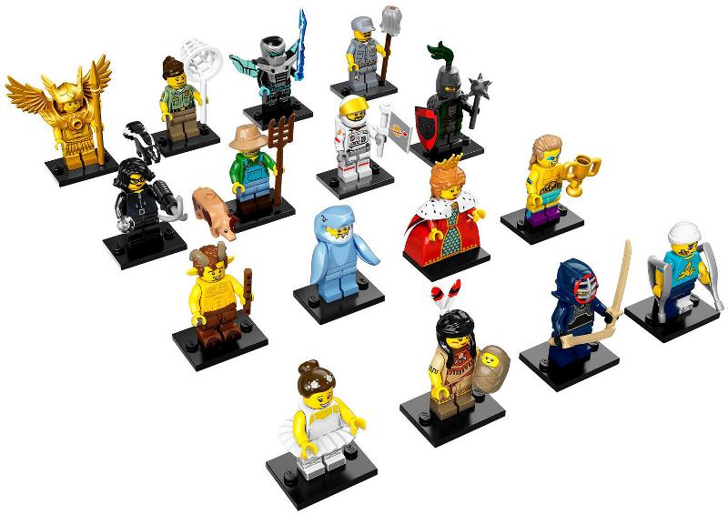 Lego minifigures collection 15, set 71011