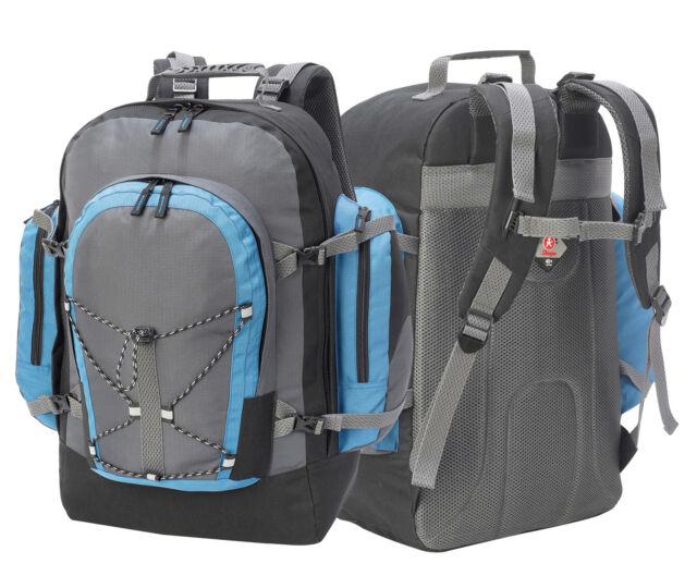 550cd3593daf Shugon Monte Rosa 40 Litre Trip Rucksack Bag Camping Backpack Hiking  (SH1797)