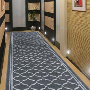 Details zu 50% Reduziert Teppichläufer Läufer Flur Küche Wabenmuster  Graphit Grau 80 x 520