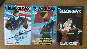 Blackhawk-1-2-3-DC-Comics-Howard-Chaykin-1988-set-lot-NM