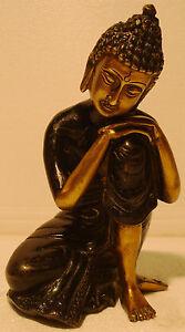Vintage Style BUDDHISM Type statue - BRASS - Tibet Buddhism Shakyamuni Amitabha